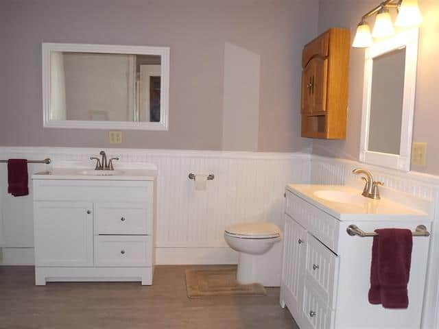 bathroom in Janesville home for sale