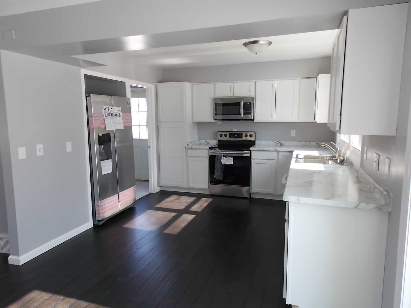 kitchen in Janesville home for sale