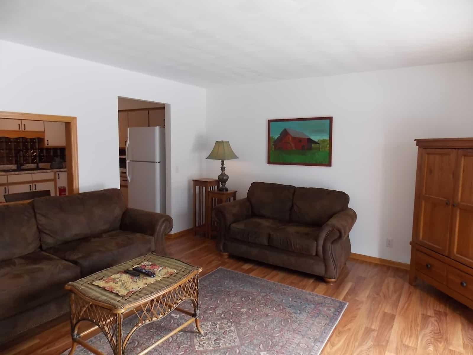 living room at 229 Ba Wood Ln Janesville, WI